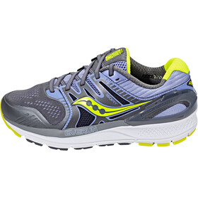 saucony Redeemer ISO 2 Shoes Women Grey/Purple/Citron